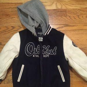 Osh Kosh boys varsity style jacket